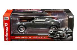 Chevrolet  - Camaro SS 50th Anniversary 2017 grey metallic - 1:18 - Auto World - AW243 - AW243 | Toms Modelautos