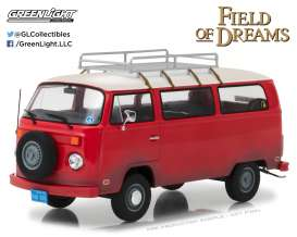 Volkswagen  - 1973 red - 1:24 - GreenLight - gl84034 | Tom's Modelauto's