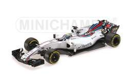 Williams Mercedes Benz - 2017 white/red-blue stripes - 1:18 - Minichamps - 117170019 - mc117170019 | Tom's Modelauto's
