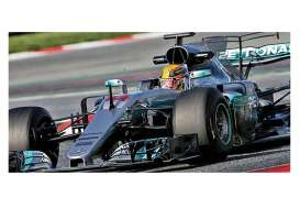 Minichamps - Mercedes  - mc410170044 : 2017 Mercedes AMG Petronas F1 team F1 WO8 EQ Power+ L.Hamilton