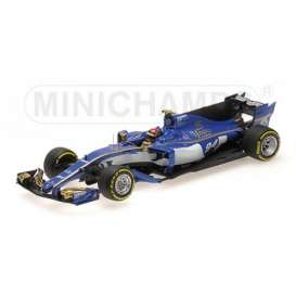 Sauber Ferrari - F1 Team 2017  - 1:43 - Minichamps - 417170094 - mc417170094 | Tom's Modelauto's