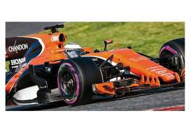 Minichamps - McLaren Honda - mc537174314 : 2017 McLaren Honda MCL32 F.Alonso *Resin Series*