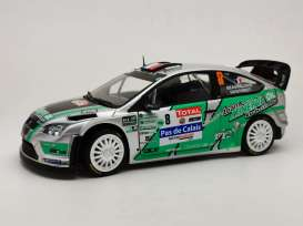 Ford  - Focus 2012 green/white/black - 1:18 - SunStar - 3959 - sun3959 | Toms Modelautos