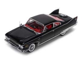 Plymouth  - 1960 black/red - 1:18 - SunStar - sun5423 | Tom's Modelauto's
