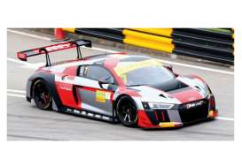 Audi  - R8 2016 white/red/grey - 1:43 - Minichamps - 437161107 - mc437161107 | Toms Modelautos