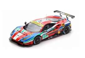 Look Smart - Ferrari  - LS18LM010 : 2016 Ferrari 488 GTE LMGTE Pro 24h Le Mans Bruni/Calado/Pier Guidi *Resin Series*, red/blue/green