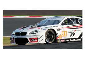 Minichamps - BMW  - mc437162691 : 2016 BMW M6 GT3 AAI Racing Team Chen/Millroy /Werner Asian Le Mans Series *Resin series*, white/red