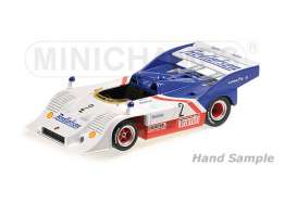 Porsche  - 1974 white/blue/red - 1:43 - Minichamps - 437746502 - mc437746502 | Tom's Modelauto's