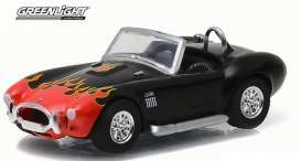 GreenLight - Shelby  - gl96170C : Shelby Cobra *Motor World Series 17*, black with flames