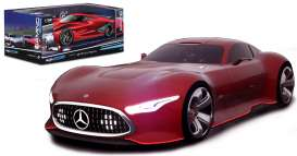 Mercedes Benz  - red - 1:32 - Maisto - mai22302-16952r | Tom's Modelauto's