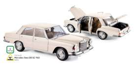 Mercedes  - 1969 ivory - 1:18 - Norev - nor183569 | Tom's Modelauto's