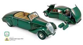 Norev - Peugeot  - nor184871 : 1937 Peugeot 402 Eclipse, dark green