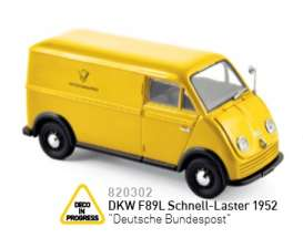 DKW  - yellow - 1:43 - Norev - nor820302 | Tom's Modelauto's