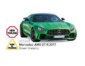 Norev - Mercedes  - nor351349 : 2017 Mercedes AMG GTR, green metallic