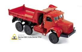 Berliet  - 1958 red - 1:43 - Norev - nor690012 | Tom's Modelauto's