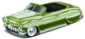 Maisto - Mercury  - mai15494-07142 : 1950 Mercury Convertible Outlaws, green
