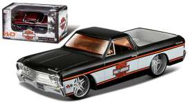 Chevrolet  - 1967 black/white - 1:64 - Maisto - 11380-05032 - mai11380-05032 | Tom's Modelauto's