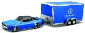 Maisto - Dodge  - mai11368-04212 : 1969 Dodge Charger R/T + Car Trailer Tow&Go