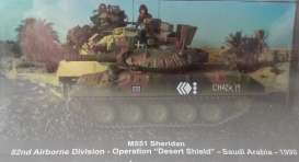 Magazine Models - Combat Vehicles  - magCMC030 : 1990 M551 Sheridan 82nd Airborne Division Operation Desert Shield Saudi Arabia, camouoflage