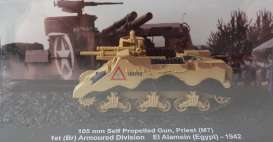 Magazine Models - Combat Vehicles  - magCMC033 : 1942 M7 105mm Self Propelled Gun *Priest* 1st (Br) Amoured Division El Alamein (Egypt), camouflage