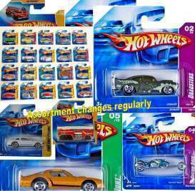 Mattel Hotwheels - Hotwheels Kids - Mat5785-981K~72 : Various Hotwheels vehicles in scale 1/64 in a  mix box of 72 pcs.