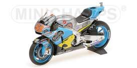 Honda  - 2017 blue/yellow - 1:12 - Minichamps - 122171153 - mc122171153 | Tom's Modelauto's