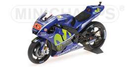 Yamaha  - YZR-M1 2017 blue - 1:12 - Minichamps - 122173025 - mc122173025 | Tom's Modelauto's