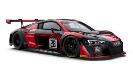 Paragon - Audi  - para88103 : 2016 R8LMS Belgium Audi Club Team WRT #28 3rd 24 Hours Spa Vanthoor/Rast/Müller, black/red