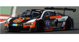 Audi  - 2016 black/orange - 1:18 - Paragon - 88108 - para88108 | Toms Modelautos