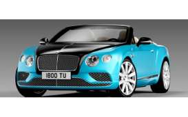 Paragon - Bentley  - para98235L : 2016 Bentley Continental GT Convertible LHD, onyx over kingfisher