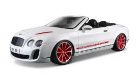 Bentley  - 2012 white - 1:18 - Bburago - 11035w - bura11035w | Toms Modelautos