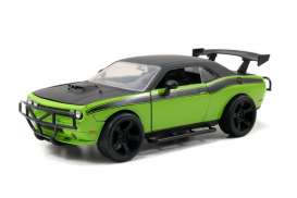 Dodge  - 2008 green/black - 1:24 - Jada Toys - 97131 - jada97131 | Toms Modelautos