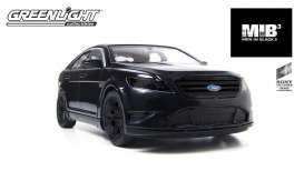 GreenLight - Ford  - gl18211^2 : Ford Taurus SHO from the new 2012 Movie *Men in Black III* (2012 Agent car), black