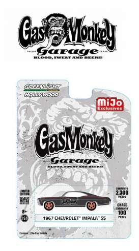 GreenLight - Chevrolet  - gl51120A : 1967 Impala *Gas Monkey Garage*