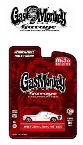 GreenLight - Ford  - gl51119A : 1965 Ford Mustang Fastback *Gas Monkey Garage*.