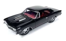 Chevrolet  - 1967 black - 1:24 - Auto World - 24006 - AW24006 | Tom's Modelauto's