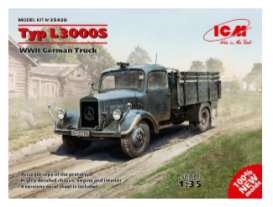 Military Vehicles Mercedes Benz - 1:35 - ICM - icm35420 | Tom's Modelauto's