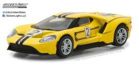 Ford  - 2017 yellow/black - 1:64 - GreenLight - 13200E - gl13200E | Tom's Modelauto's