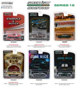 Assortment/ Mix  - various - 1:64 - GreenLight - gl44780 | Tom's Modelauto's