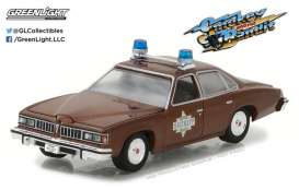 GreenLight - Pontiac  - gl44780B : 1977 Sheriff Buford T. Justice's Pontiac LeMans *Smokey and the Bandit* Hollywood series 18