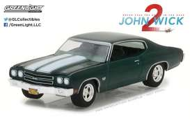 Chevrolet  - 1970 various - 1:64 - GreenLight - gl44780F | Tom's Modelauto's