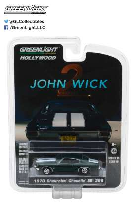GreenLight - Chevrolet  - gl44780F : 1970 Chevrolet Chevelle SS 396 *2017 John Wick chapter 2* Hollywood series 18