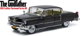 Cadillac  - 1955 black - 1:18 - GreenLight - 12949 - gl12949 | Toms Modelautos
