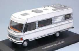 Hymer  - 1981 white/grey - 1:43 - IXO Models - ixCAC004 | Tom's Modelauto's