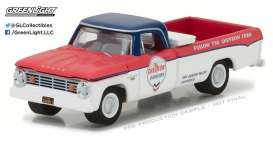 Dodge  - 1965 blue/red - 1:64 - GreenLight - 41030A - gl41030A | Tom's Modelauto's