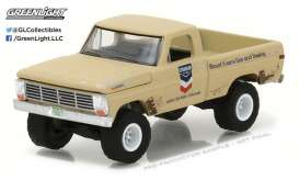 GreenLight - Ford  - gl41030B : 1968 Ford F-100 *Standard Oil* Running on Empty Series 3, blue/red/white