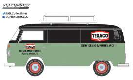 GreenLight - Volkswagen  - gl41030D : 1979 Volkswagen Type 2 Panel Van *Texaco* Running on Empty Series 3, red/white