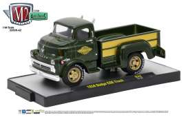 M2 Machines - Dodge  - M2-32500-42A : 1958 Dodge COE Truck *Auto-Trucks Release 42*, green metallic/gold