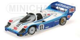 Porsche  - 1983 white/black/turquoise - 1:18 - Minichamps - 155836691 - mc155836691 | Tom's Modelauto's
