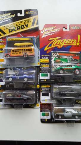 Assortment/ Mix  - various - 1:64 - Johnny Lightning - SF005B - JLSF005B | Toms Modelautos